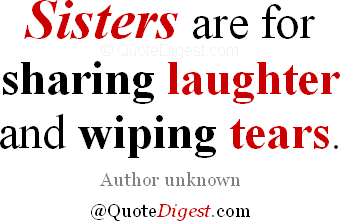 sisters-sharing-laughter-wiping-tears-quote
